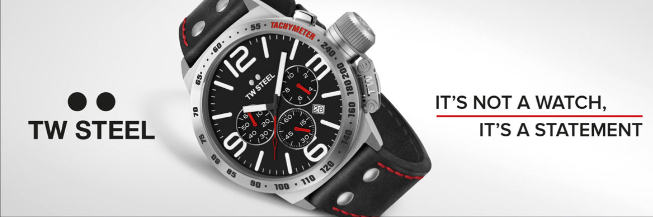 TW Steel Watches banner