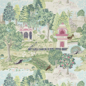 Zoffany Peacock Garden Wallpaper