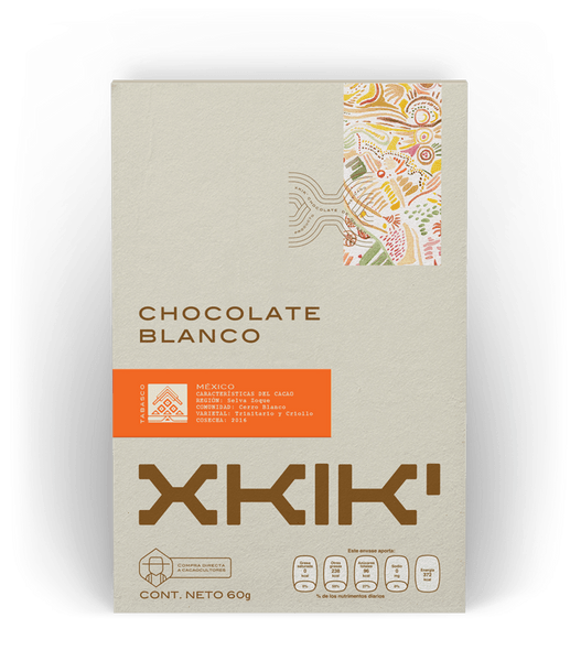 XKIK chocolate blanco 35% cacao