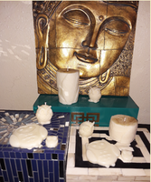 "Aromatherapy ""Energy Cleanser"" Soy/beeswax Candle Collection - Intuitive Clarity Candle Boutique"