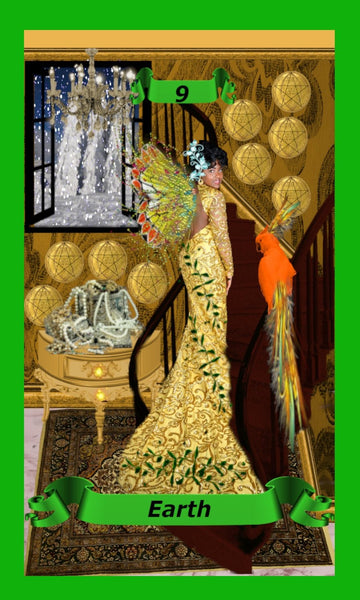 "Tarot Deck: ""The Fairy's Journey"" Handcrafted Uniquely Designed Tarot Deck - Intuitive Clarity Candle Boutique"