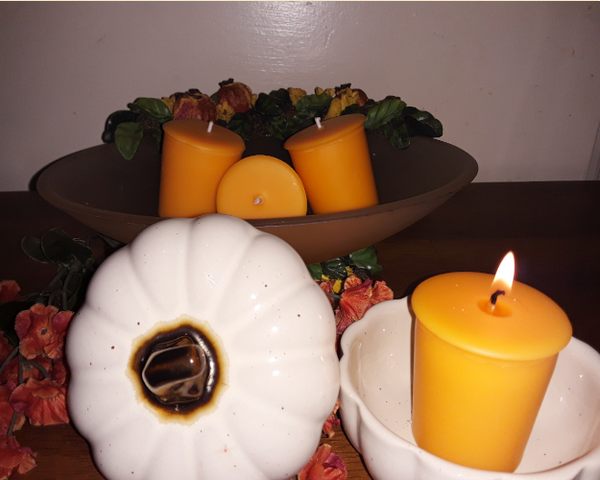 Grandmother's House - Fall Scented All Soy Set of Two Pumpkin Candles - Intuitive Clarity Candle Boutique