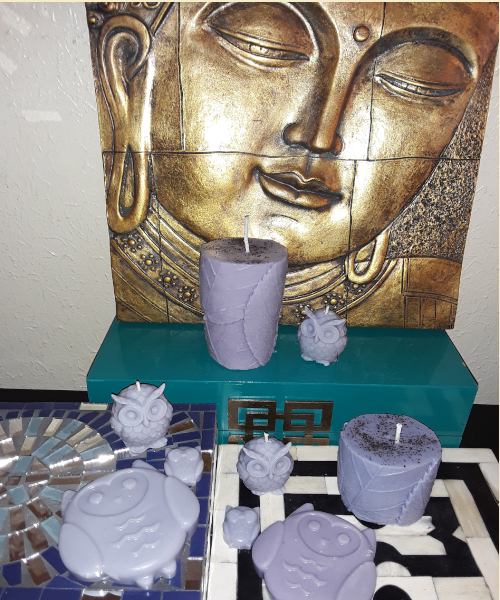 "Aromatherapy ""Sweet Dreams"" Soy/beeswax Candle Collection - Intuitive Clarity Candle Boutique"