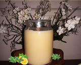 Tea Time - Chamomile Scented all Soy Hand-poured Candle with Hybrid Wick-4 oz Jar - Intuitive Clarity Candle Boutique