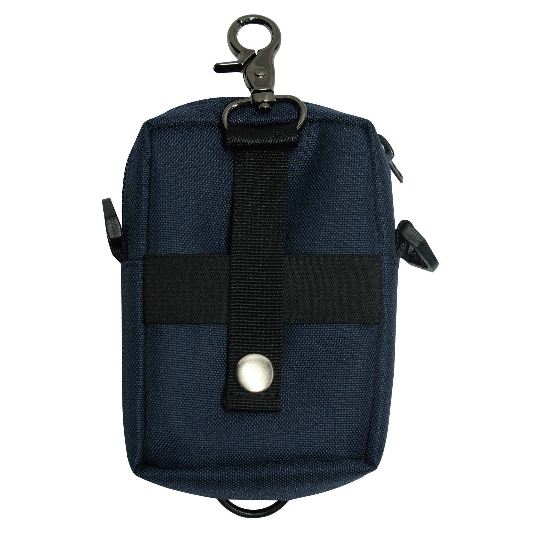 Multi Coin bag w/strap navy blue