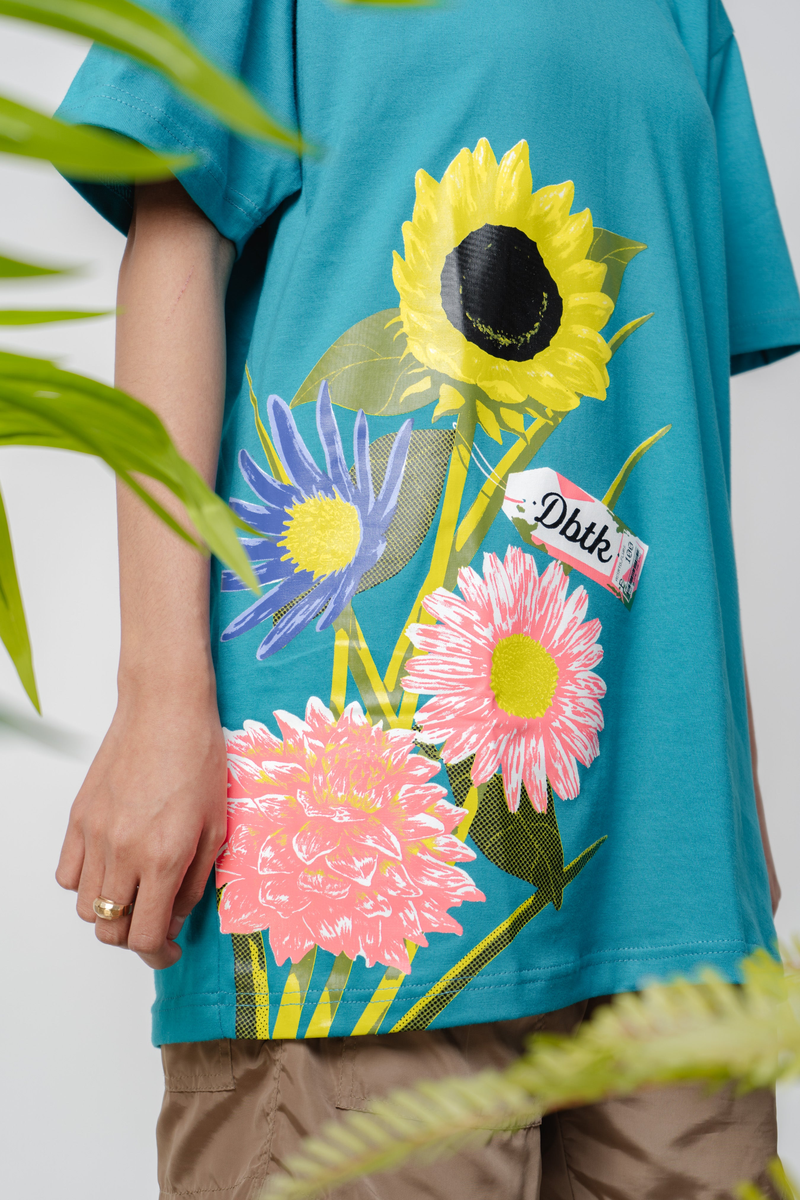 Summer bouquet turquoise