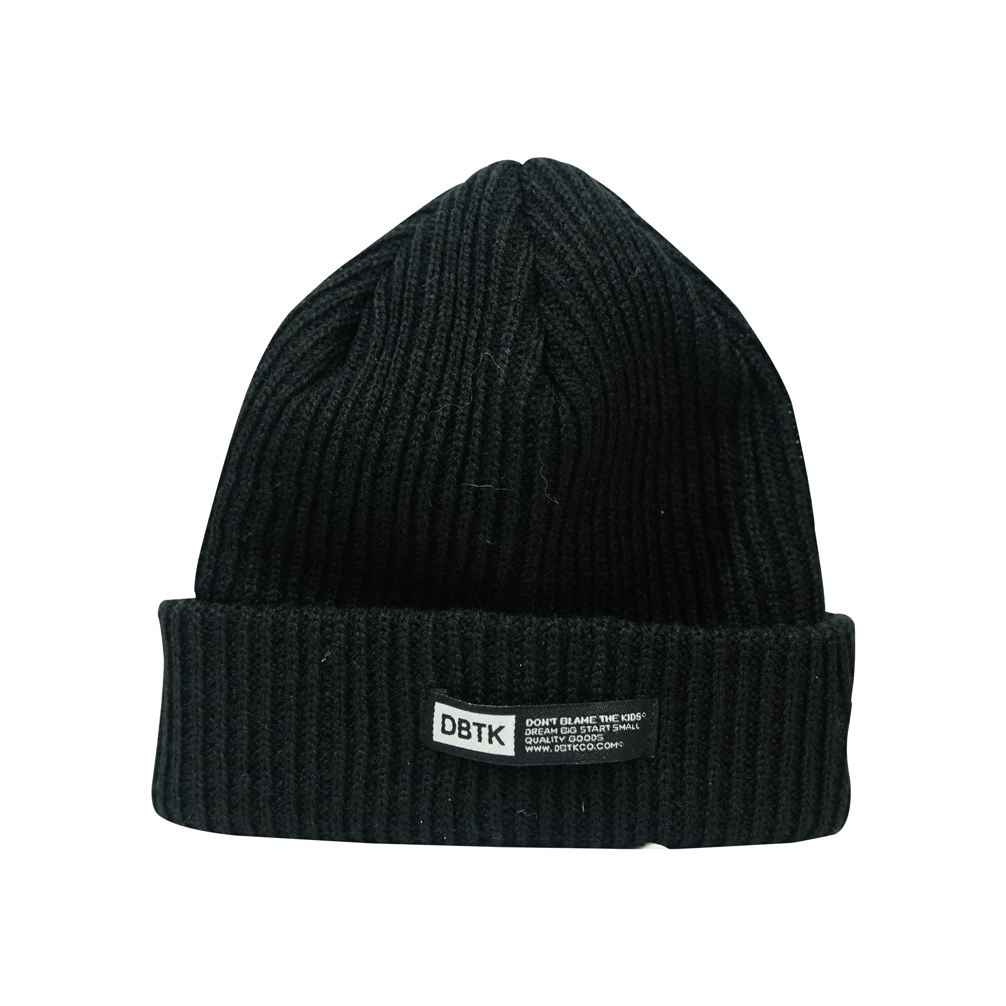 CIPHER TONAL SHORT BEANIE BLACK