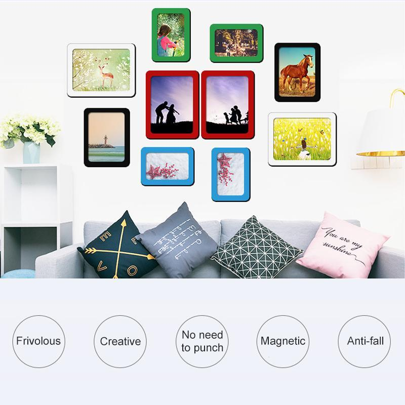 Colorful Magnetic Picture Frames