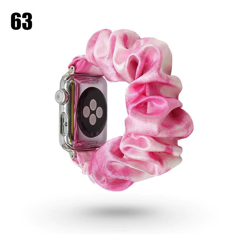 Scrunchie Elastic Watch Band for iwatch