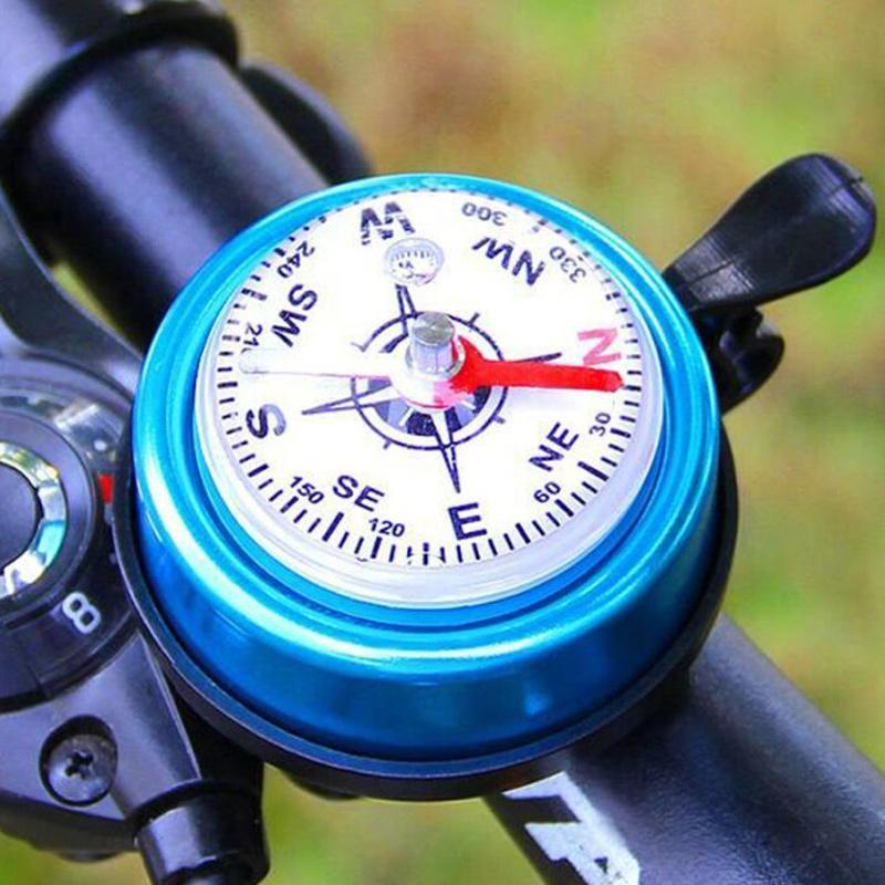 Compass bicycle bell