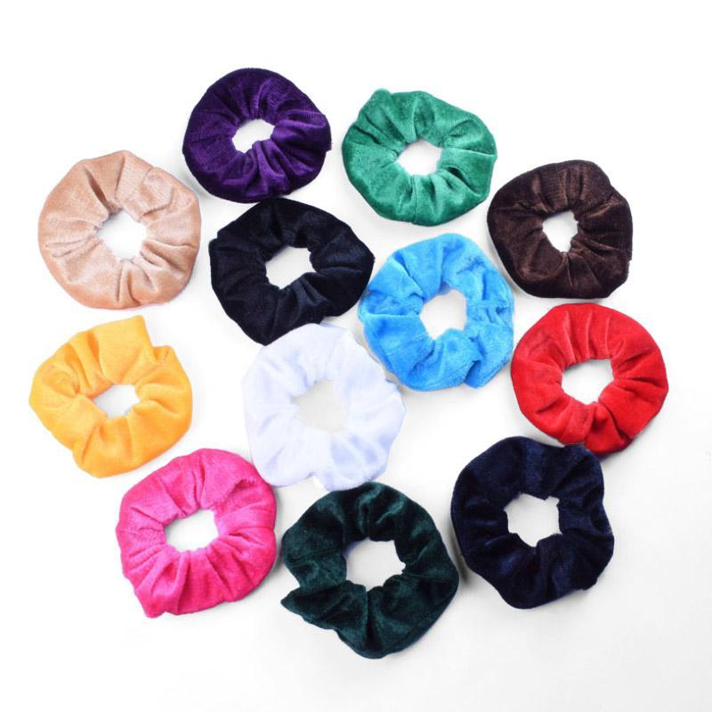 Velvet Hair Ring Set