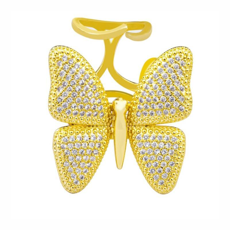 Dynamic Butterfly Ring