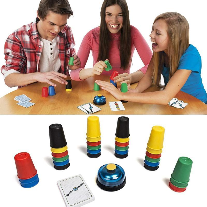 Fast Paced Speed Cups Game