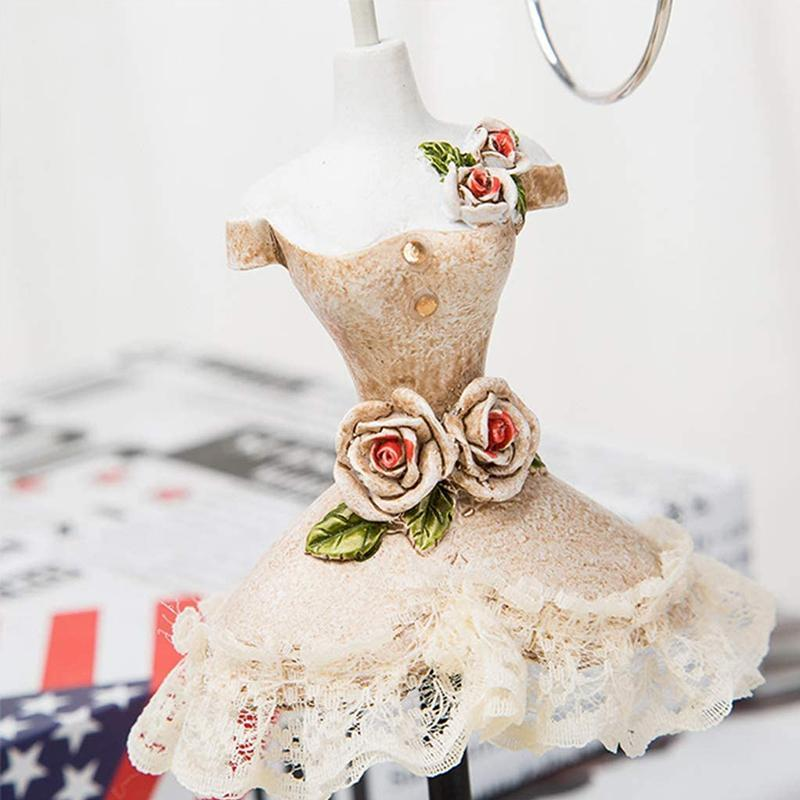 Lady Mannequin Jewelry Holder