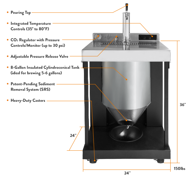 Original Vessi® Fermentor and Dispenser