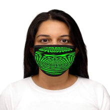 Load image into Gallery viewer, Distortion - Mixed-Fabric Face Mask - Solitary Isle
