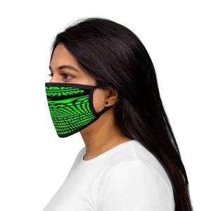 Distortion - Mixed-Fabric Face Mask - Solitary Isle