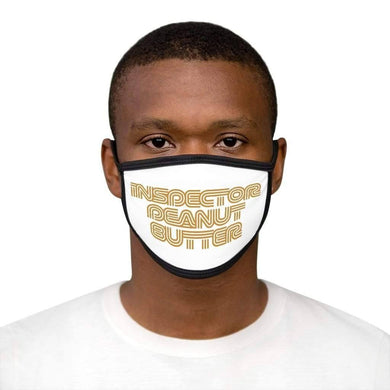 Inspector Peanut Butter - Mixed-Fabric Face Mask - Solitary Isle