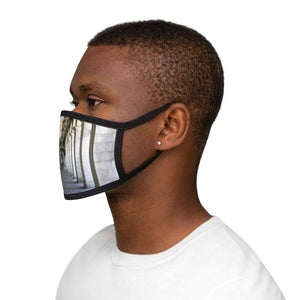 Toronto - Mixed-Fabric Face Mask - Solitary Isle
