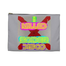 Load image into Gallery viewer, I KILLED SPIDER DISCO - Accessory Pouch - Solitary Isle