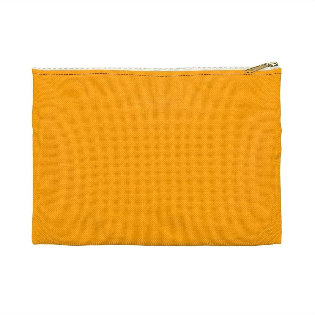 Bags Large / White Orange Bag - Accessory Pouch