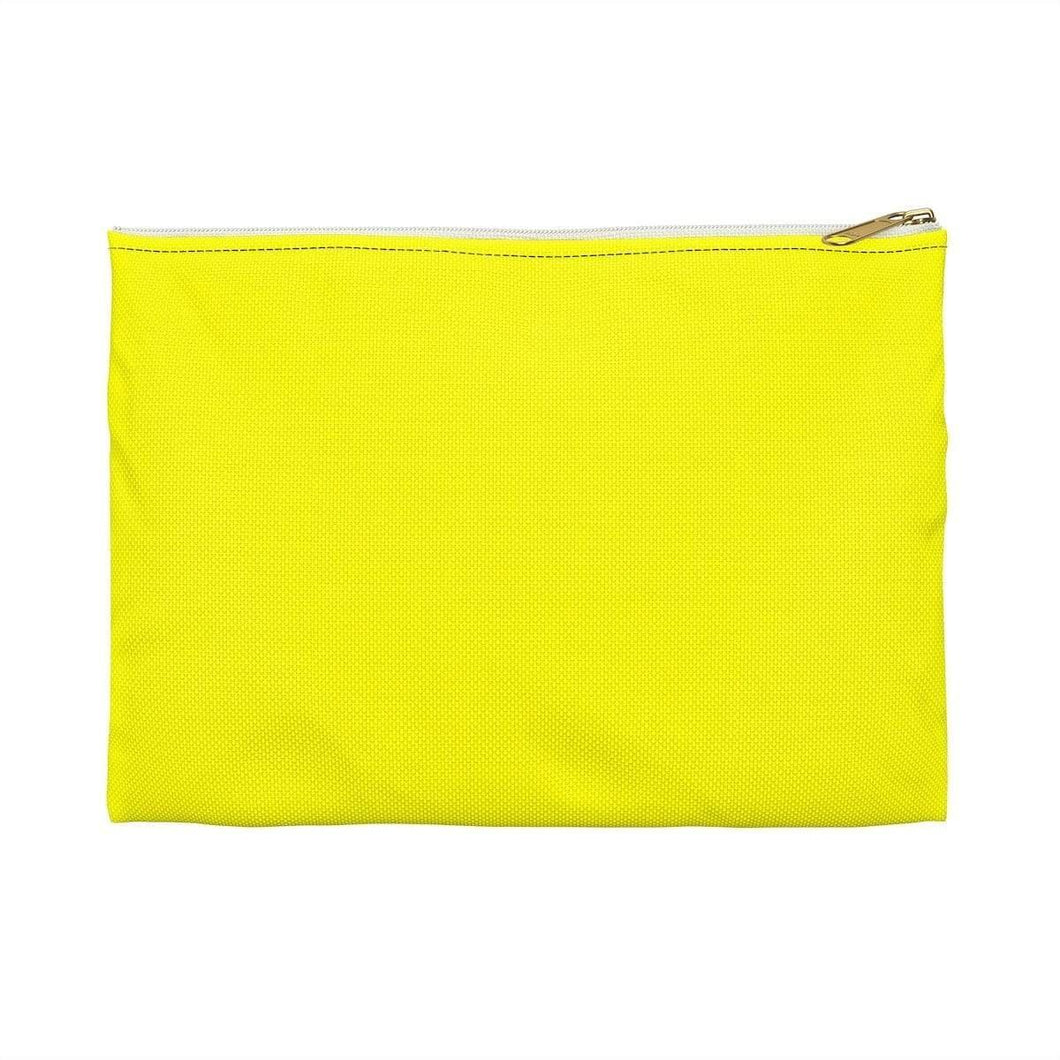 Bags Large / White Yellow Bag - Accessory Pouch