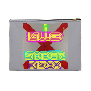 I KILLED SPIDER DISCO - Accessory Pouch - Solitary Isle