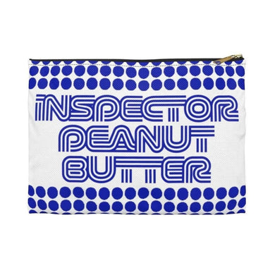 Bags Small / Black Inspector Peanut Butter - Blue - Accessory Bag