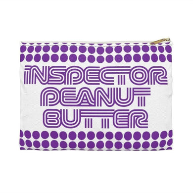 Bags Small / White Inspector Peanut Butter - Purple - Accessory Bag