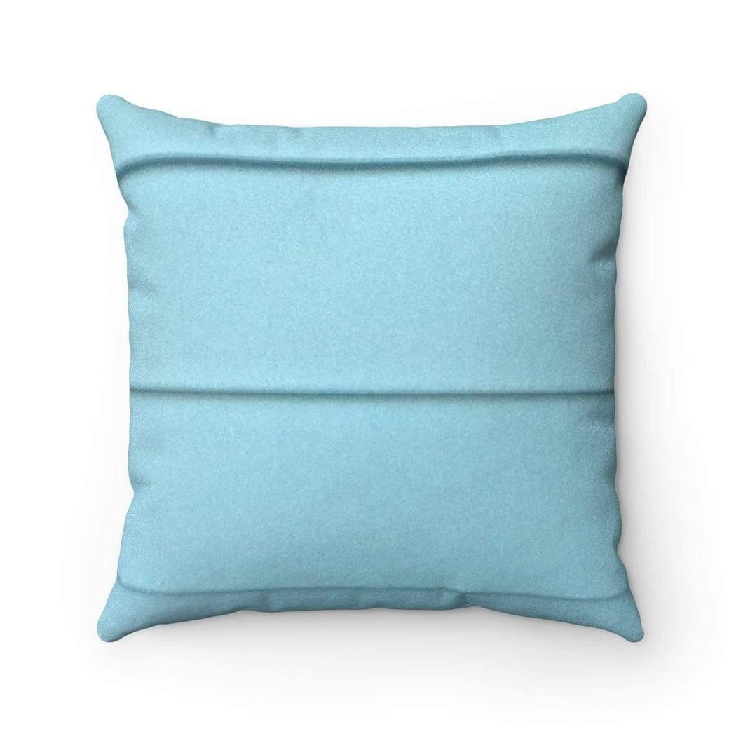Faux Suede Square Pillow Case - Breath - Solitary Isle