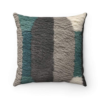 Faux Suede Square Pillow Case - Den - Solitary Isle