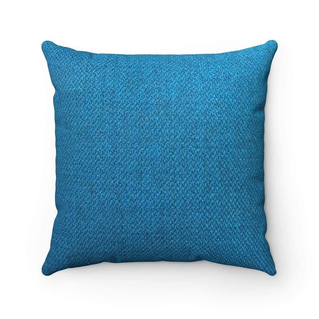 Faux Suede Square Pillow Case - Fuel - Solitary Isle