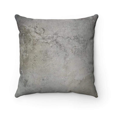 Faux Suede Square Pillow Case - Lunar - Solitary Isle