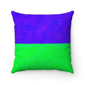 Home Decor Faux Suede Square Pillow Case - Matte Year of Hell
