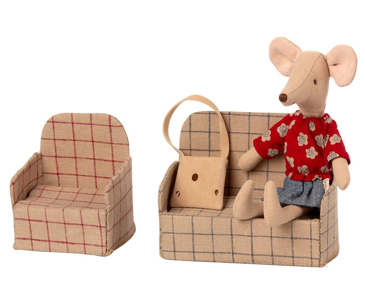 Couch, Mouse by Maileg