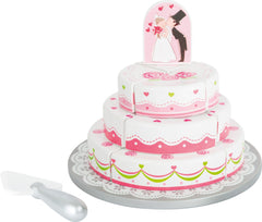Cuttable Wedding Cake by Small Foot