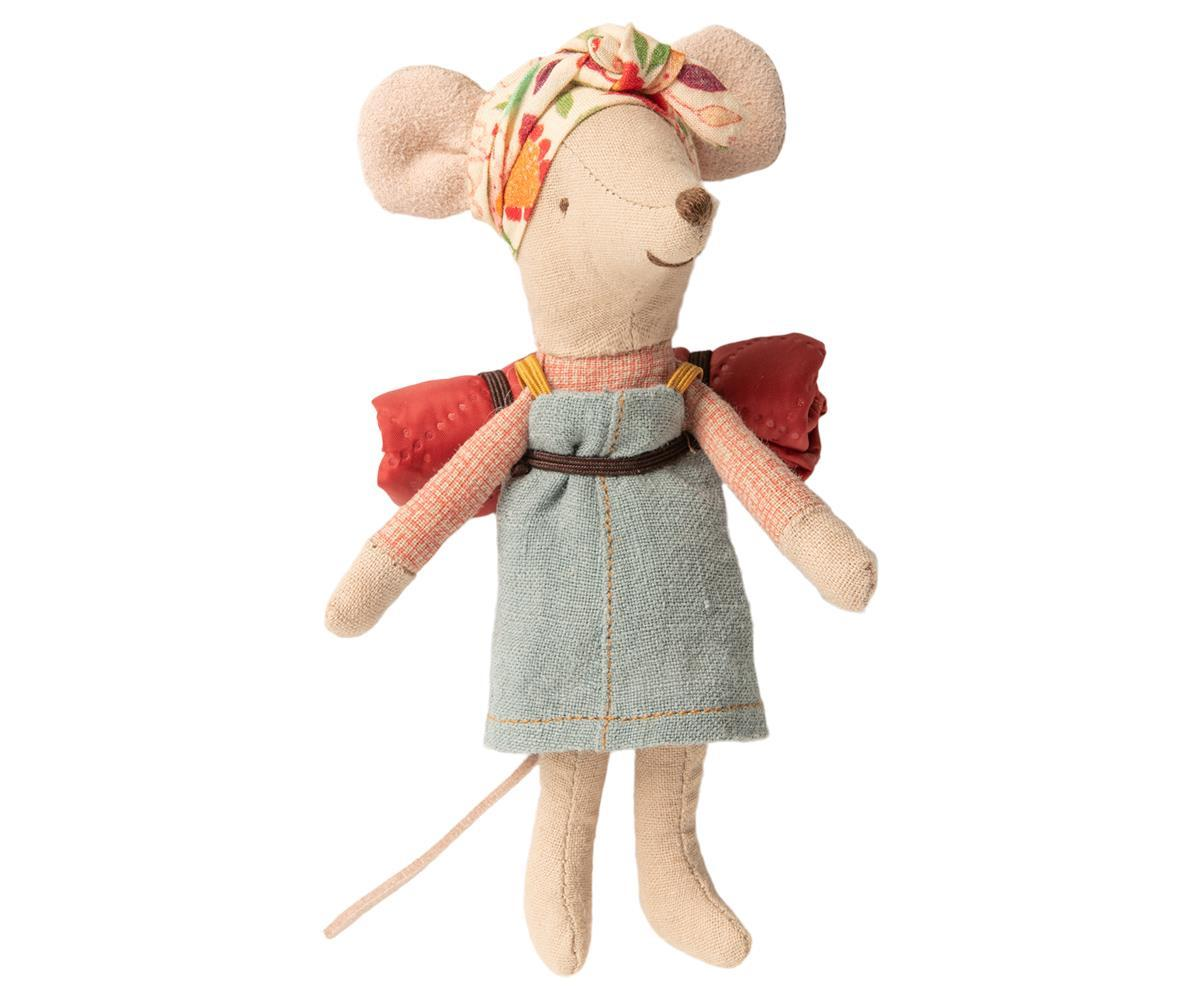 Hiker Mouse, Big Sister by Maileg