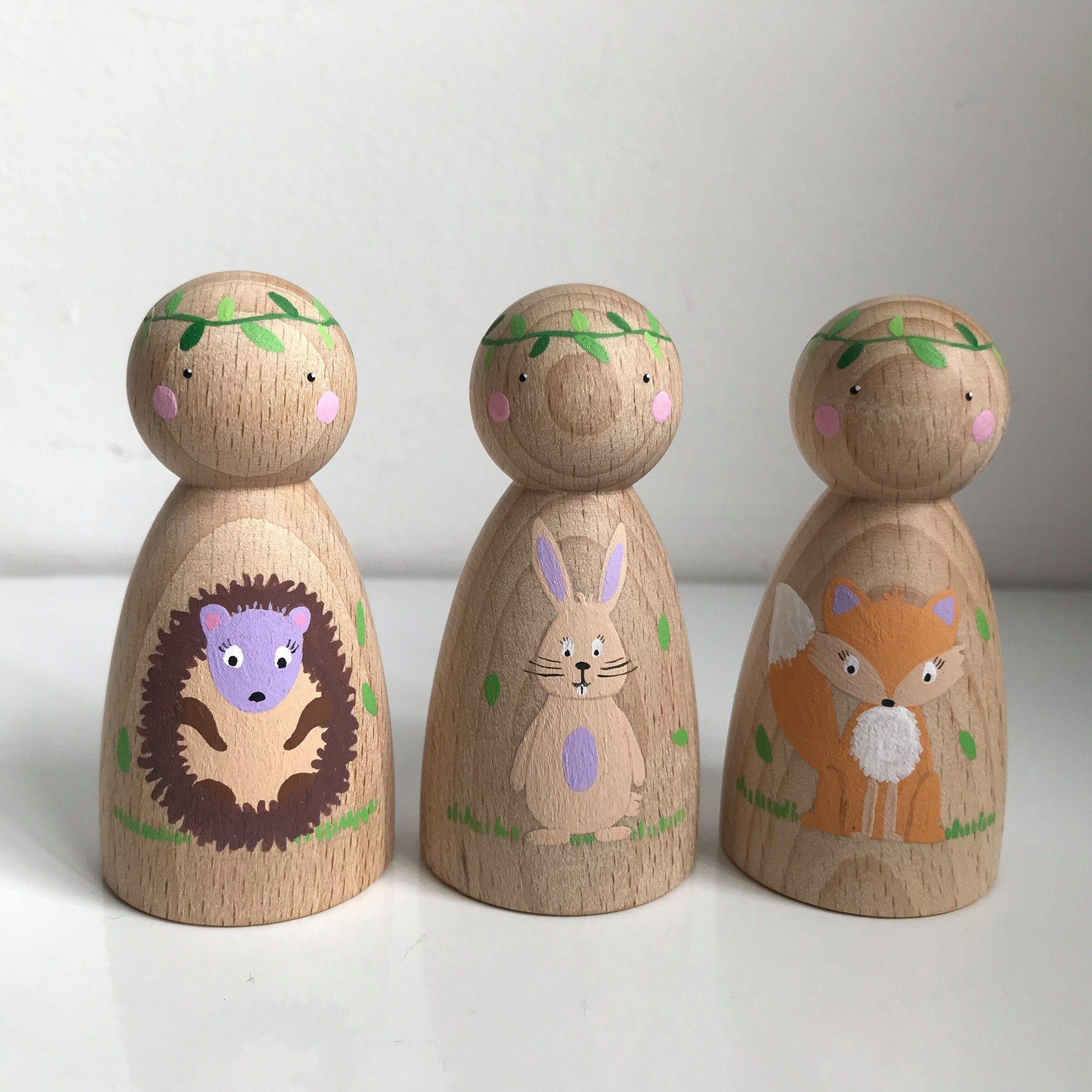 Noah's Friends Peg Doll by Melodie Treasures