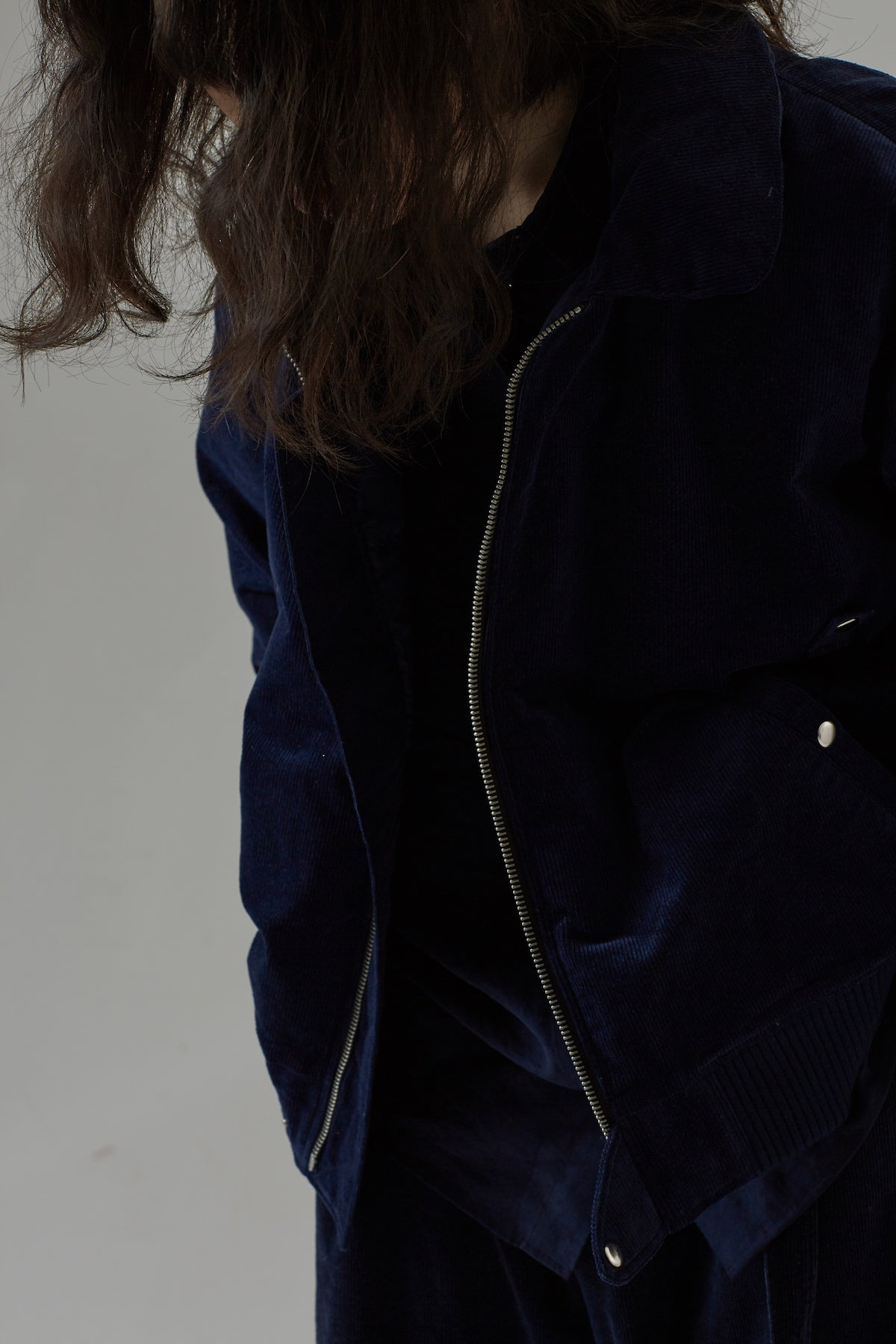 BOMBER JACKET - NAVY