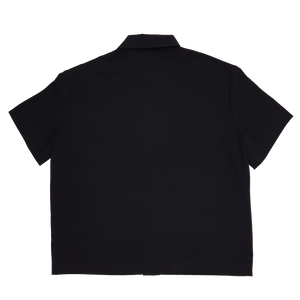 Botton Pocket Shirt - Black