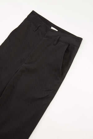 DENIM STRAIGHT PANT - BLACK