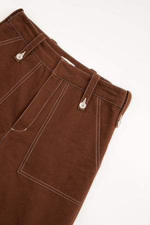 STITCHED PANT - RED