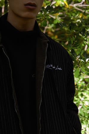 Striped Logo Jacket
