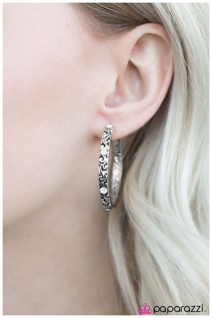 A Cause for Celebration  - White Earring - BlingbyAshleyNicole