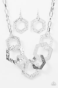 The HEX Factor - Silver Necklace - BlingbyAshleyNicole