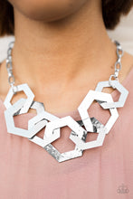 Load image into Gallery viewer, The HEX Factor - Silver Necklace - BlingbyAshleyNicole