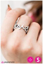 Load image into Gallery viewer, Young Love - Paparazzi Silver Ring - BlingbyAshleyNicole