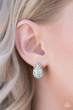 Load image into Gallery viewer, Hostess With The Mostess - Paparazzi White Post Earring - BlingbyAshleyNicole