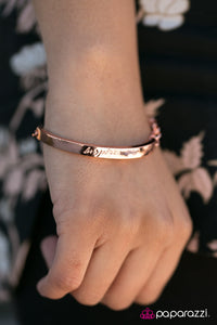 Born to Inspire - Paparazzi Copper Bracelet - BlingbyAshleyNicole