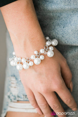 Out To Sea - White Bracelet - BlingbyAshleyNicole